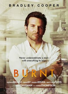 Great example of why you shouldn't listen to critics. Released in 2015 Bradley Cooper stars as a renowned chef who makes his comeback in London. A story of redemption and resolve, I found this to be a great story!
