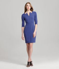 RAMIRA DRESS    The Ramira Dress lifts your wardrobe and is our definition of the perfect power dress. With an adjustable front zip and vibrant purple hue, she is the perfect contender for a girls night out. Switch out your work pumps for party heels and we'd say you've nailed the perfect day-to-evening garment.