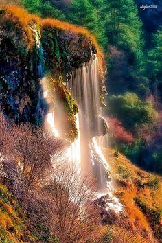 La douche by Marco Migliardi on 500px... #acqua #autumn #autunno #cascade #cascata #fall #verdon #water
