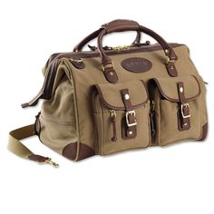 Just found this Duffle Bag - Bullhide-and-canvas Weekend Duffle -- Orvis on Orvis.com!