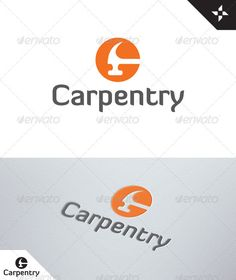 Letter C - Carpentry logo by CMYKAOS Carpentry Logo is a letter C that lends itself to industry & trades such as craftspeople, carpenters & joiners, skilled woodworker