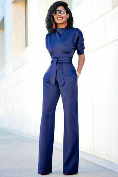 Buttoned Dolman Sleeve Textured Jumpsuit (Style Pantry) Outfit Details: Jumpsuit available here Work Fashion, Fashion Outfits, Womens Fashion, Style Fashion, Classy Outfits, Stylish Outfits, Black And White Outfit, Formal Jumpsuit, Jumpsuit Style