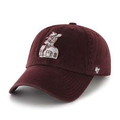 231bde4f92b NCAA Texas A   M Aggies Clean Up Adjustable Cap (Dark Maroon