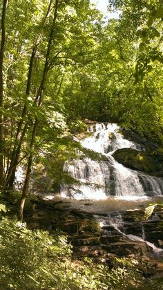 Logan Creek Falls, Washington County Va.