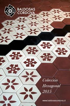 Colección Hexagonal 2015, Baldosas Córdova. www.baldosascordova.cl