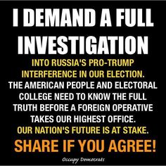 """Trump himself said """"The System Is Rigged."""" What he didn't tell his Gullible Supporters/Voters is HE was the one doing the Rigging!! TRUMP & PUTIN STOLE THIS ELECTION AND HE SHOULD NOT BE SWORN IN!!"""