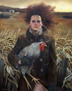 """""""Rural Sisters"""" by Andrea Kowch"""
