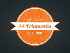 44 Printworks Logo  by Riley Cran