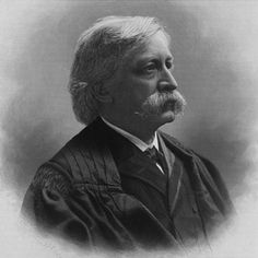 Melville Fuller was born on February 11th, 1833 in Augusta, Maine. He graduated from Bowdoin College and attended Harvard Law School. He was elected as a Democrat to the Illinois Constitutional Convention of 1861 and to the State House of Representatives in 1862. President Grover Cleveland appointed him Chief Justice of the Supreme Court in 1888. He served until 1910, the year of his death.