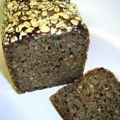 Oats Recipes, Healthy Recipes, Paleo Bread, Keto Soup, Overnight Oats, Banana Bread, Bakery, Food And Drink, Sweets