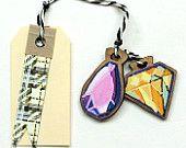 Diamond Jewels  Gift Tag, Ornament