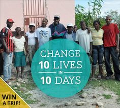 Change 10 Lives in 10 Days