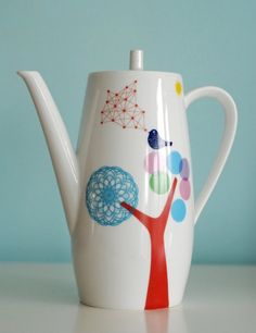 Etsy  http://www.etsy.com/listing/98373474/seconds-sale-large-bird-teapot