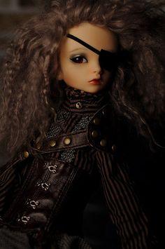 :: Crafty :: Doll :: Steampunk :: steampunk girl   by Ksiny