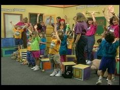 ▶ The High and Low Game - The Children's Music Workshop - YouTube
