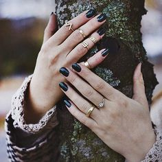 13 Real-Girl Ways to Style Your Rings Like a Pro: In order to master a good styling trick, you've got to first shop for the necessary pieces to pull it off —sort of how a chef gathers ingredients before starting a recipe.