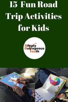 These are Fun Road Trip Activities for Kids. They will enourage your child to be creative and think. Road trips will go by fast with these activities. Road Trip Activities, Road Trip Snacks, Road Trip Packing, Fun Activities For Kids, Road Trips, Traveling With Baby, Travel With Kids, Family Travel, Family Trips