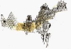 Urban Sketchers: I See London, I See France….