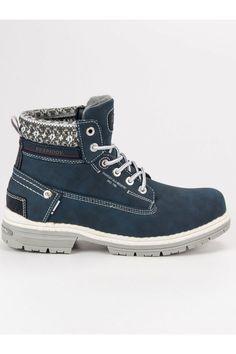 Dámske modré členkové topánky na zimu trapery American Club American, Sneakers, Shoes, Fashion, Tennis, Moda, Slippers, Zapatos, Shoes Outlet