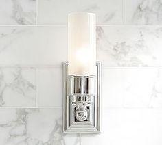 Bathroom Sconces & Lighting For Bathrooms | Pottery Barn- $ 249 for 2