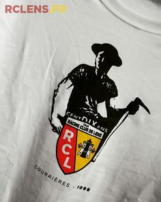tee-shirt special pour l'hommage Rc Lens, Coal Miners, Sang, Tee Shirts, Tees, Club, Football, Sports, Plunge Pool