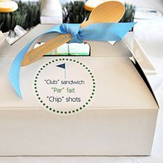 Golf Birthday Party  | Boxed Lunches | MyRecipes.com
