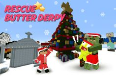 Super Fun Arcade Game for this Christmas is here for all Sky & Butter Fans out there! <p>Sky was living happily together in the City of Happy Blocks. However Bad Monsters had kidnapped Butter Derpy right before the Xmas. Now the journey begins for our hero Sky. Let him Jump and Pound on the Monsters and get to the very end of the Block Land where our Butter Derpy is imprisoned by the King Monster. <p>Super Santa Sky Butter World is the perfect game for this Xmas. Using old-school arcade like…