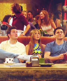 Chandler, Rachel and Joey