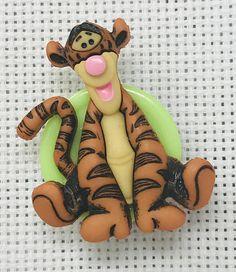 Tigger Needle Minder for Cross Stitch or any Fiber Arts  #tigger #Winnie #Disney #tiger #needle #point #minder #needleminder #needlework #needlefelting #embroidery #crossstitch #crossstitcher #xstitch #xstitcher #fiber #art #craft #hobby #etsy #etsyseller #etsyshop #handmade #shopsmall #shop #smallbusiness @shoponline