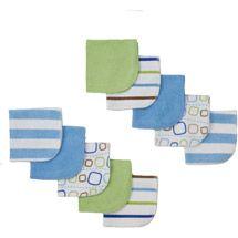 Walmart: Gerber Newborn Boy Bath Essentials 10-Pack Washcloth Set