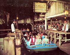 Pirates of the Caribbean open at Disneyland in 1967