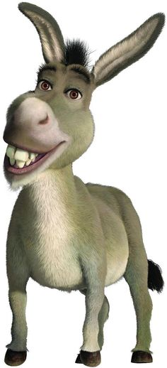 He can be Donkey from Shrek!
