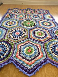 Ravelry: Sweet Pea Afghan pattern by Julie Yeager