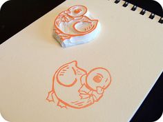 Hand Carved Duck Stamp