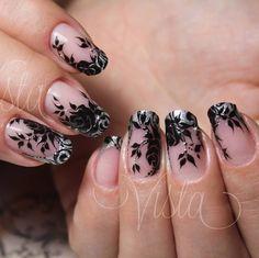 Polubienia: 943, komentarze: 9 – Татьяна Vista (@jadina_takaja) na Instagramie Lace Nail Design, Flower Nail Designs, Nails Design, Lace Nails, Flower Nails, Gorgeous Nails, Pretty Nails, Beauty Nails, Diy Beauty