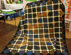 By Paula Barnes, pattern is 'Second Hand Clothes'