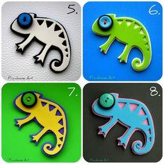 Výsledek obrázku pro mozaika chameleon