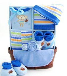 Precious Baby Boy Gift Basket