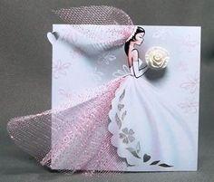 Invitaciones de boda nupcial hecha a mano Novia por SarayaWeddings