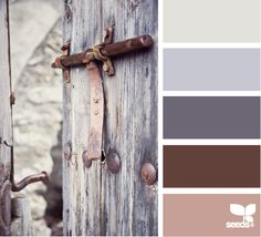 Design Seeds®: For All Who Love Color | rustic tones