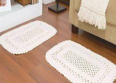 Resultado de imagem para tapete de croche para cozinha