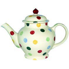Emma Bridgewater Pottery Four Cup Teapot Polka Dot for sale online Emma Bridgewater Sale, Emma Bridgewater Pottery, Pottery Teapots, Ceramic Teapots, Teapots And Cups, Chocolate Pots, Tea Time, Tea Party, Tea Cups