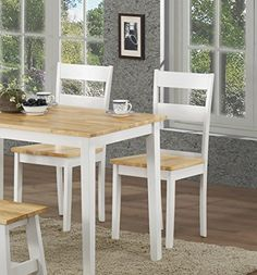 Set of 2 Kings Brand Natural / White Finish Wood Dining Room Kitchen Side Chairs Kings Brand Furniture http://www.amazon.com/dp/B00MDUU4VA/ref=cm_sw_r_pi_dp_nfM6tb10XZG8B