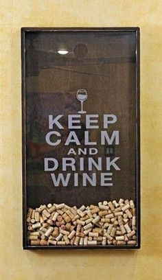 Wine Cork Holder Wall Decor Art Keep by organikcreative. Keep Calm and Drink Wine cork holder! Wine Cork Holder, Wine Rack, Keep Calm And Drink, Wine Cork Crafts, Projects With Wine Corks, Wine Cork Art, Wine Drinks, Drink Beer, Wine Racks