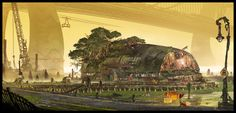 Zootopia Concept Art by Art Director Matthias Lechner