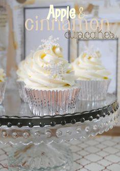 Oh, blanca Navidad (o cupcakes de manzana y canela)