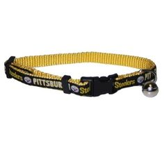 4d25a0769 Pittsburgh Steelers Breakaway Cat Collar - Pets First Get your officially  licensed NFL breakaway collar for your cat