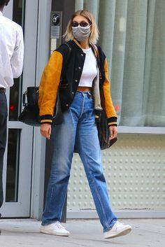 Nyc Fashion, Winter Fashion Outfits, Look Fashion, Fashion Black, Fashion Styles, Looks Street Style, Street Style Women, Street Style Jackets, Street Style Fashion