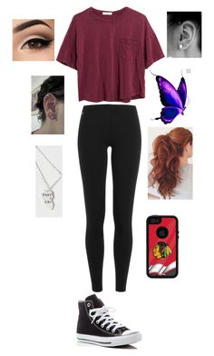 """""""Bye Bye Birdy Musical today!"""" by bazingabrittany on Polyvore featuring Polo Ralph Lauren, Madewell and Converse"""