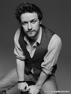 james mcavoy. even though he always looks like hes a tad bit crazy, i still find him sexy :)